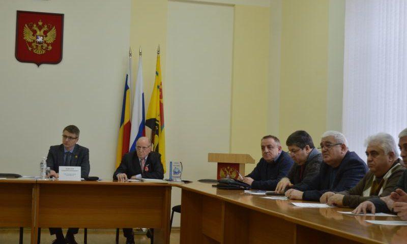 Координационный совет по межнациональным отношениям г. Шахты подвел итоги работы