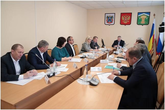 Донской глава обсудил с муниципальными руководителями и специалистами министерства культуры области нацпроект «Культура»