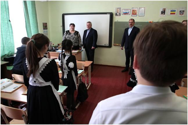 Губернатор Ростовской области распорядился выделить 29 миллионов рублей на ремонт школы в станице Боковской