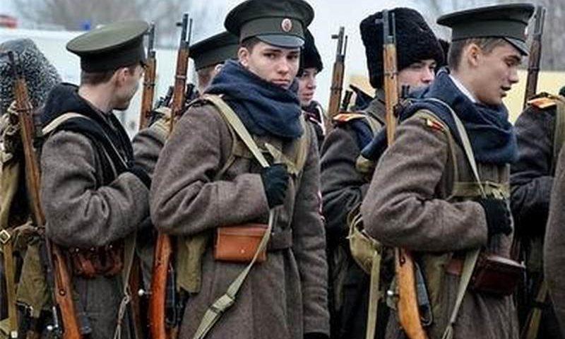 Шахтинские кадеты вспоминают события Гражданской войны на Дону