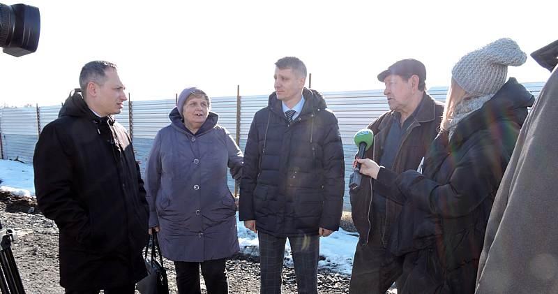 Глава администрации г. Шахты и прокурор города проверили ход строительства МКД в микрорайоне «Олимпийский»