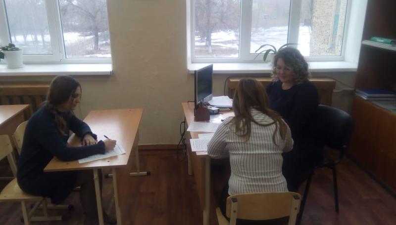 День итогового собеседования по русскому языку прошел в школе №4 г.Шахты