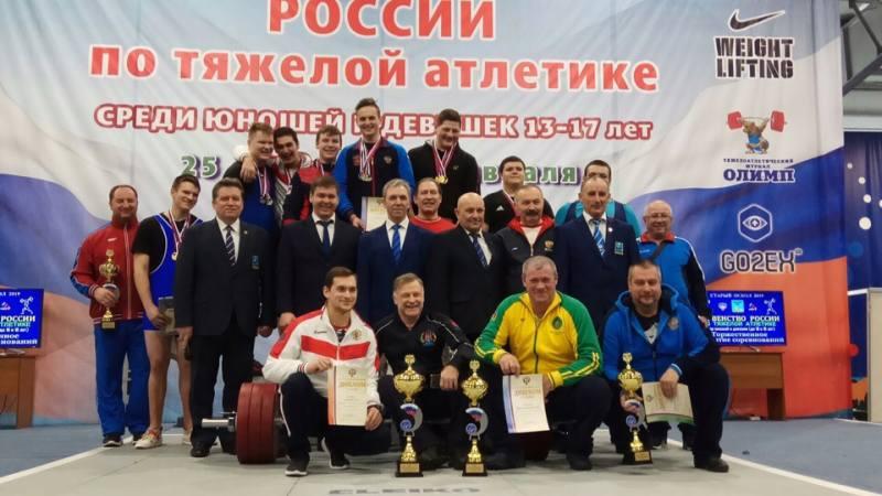 Шахтинские спортсмены успешно выступили на первенстве России по тяжелой атлетике
