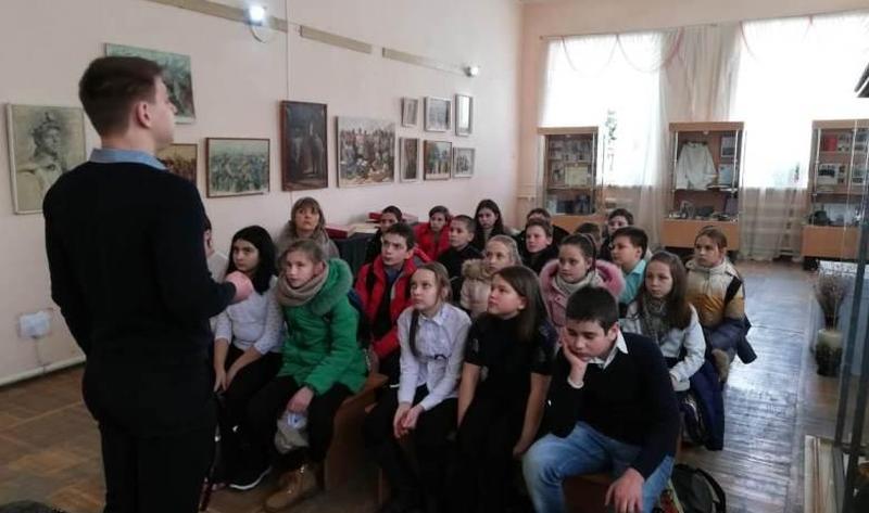 Краеведческий музей г. Шахты провел урок мужества