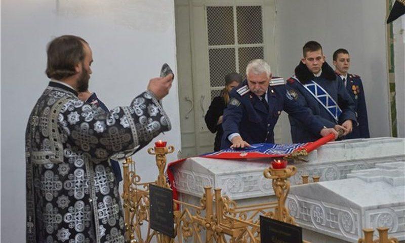 Шахтинский казачий кадетский корпус отметил 210 лет со дня рождения шефа корпуса генерала Я.П.Бакланова