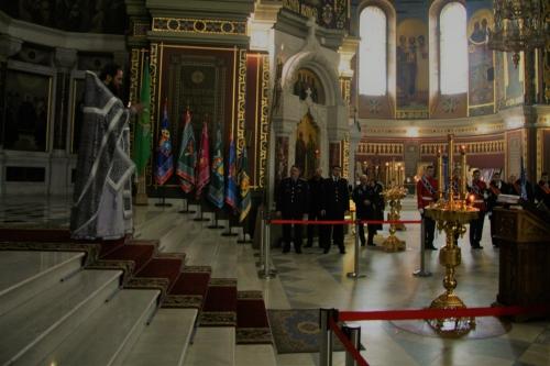 В праздник Державной иконы Божией Матери в Патриаршем Вознесенском соборе совершена Божественная литургия