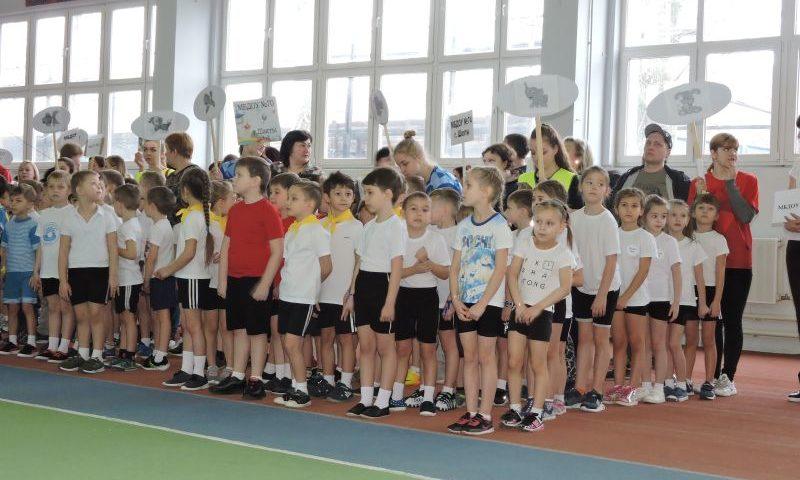 В Шахтах прошел спортивный фестиваль для дошколят