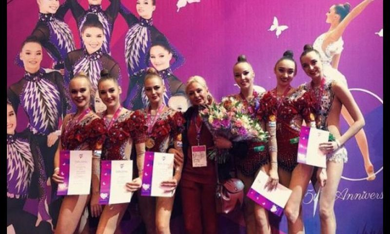 Донские спортсменки стали  победительницами международного турнира по художественной гимнастике в Эстонии