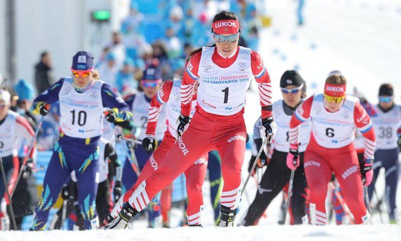 Российская лыжница Алиса Жамбалова стала четырехкратной чемпионкой Студенческих игр
