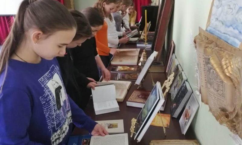 Учащимся воскресных школ города Шахты рассказали о православной литературе