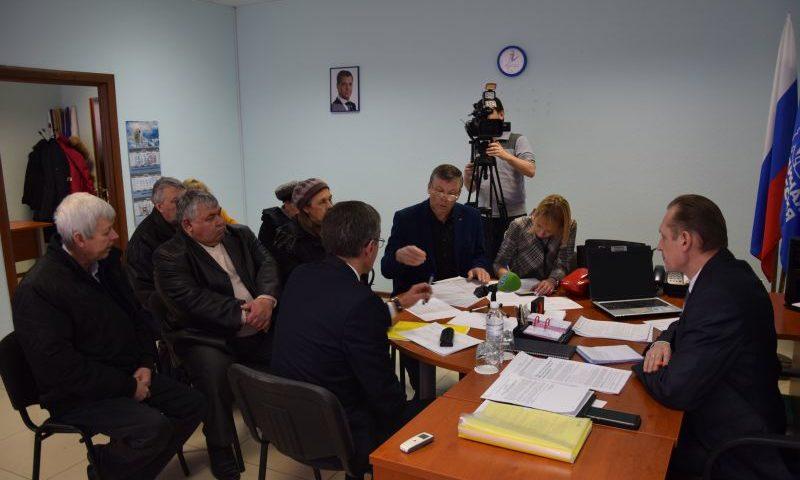 Руководитель Региональной службы по тарифам провел прием шахтинцев