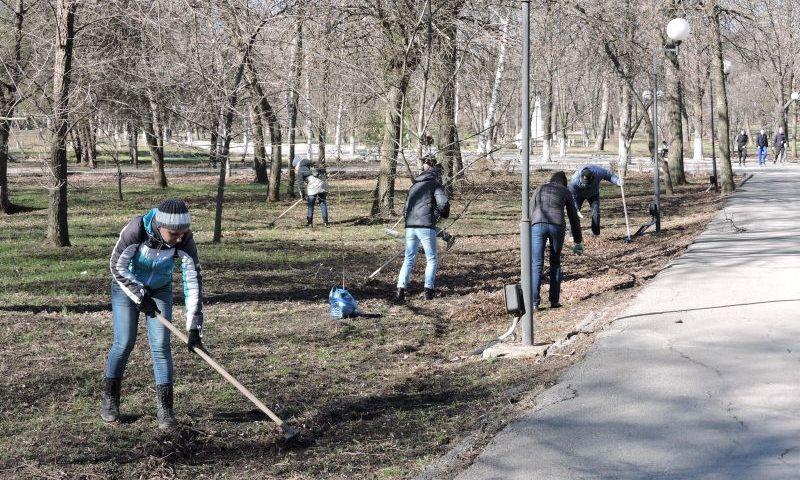Общегородские субботники в Шахтах пройдут 13 и 20  апреля