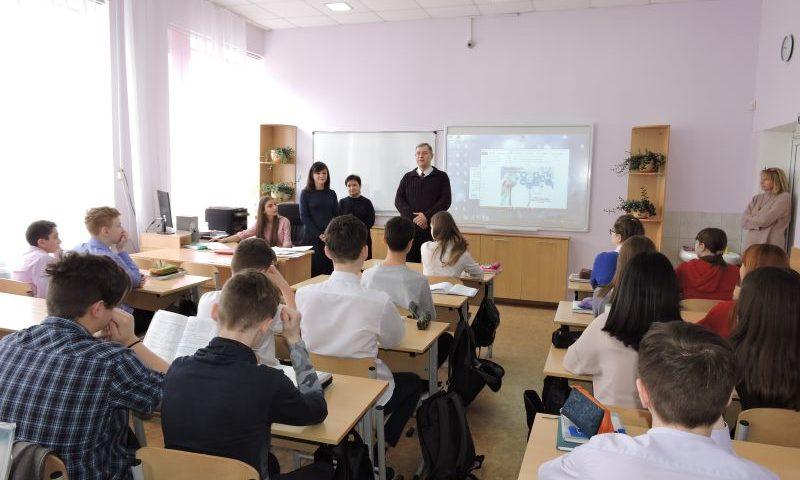 Старшеклассники города  Шахты приняли участие в профориентационных встречах
