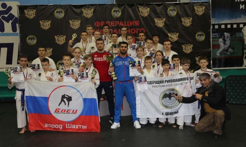 Спортсмены СК «Боец» г.Шахты завоевали 20 медалей на первенстве ЮФО по рукопашному бою