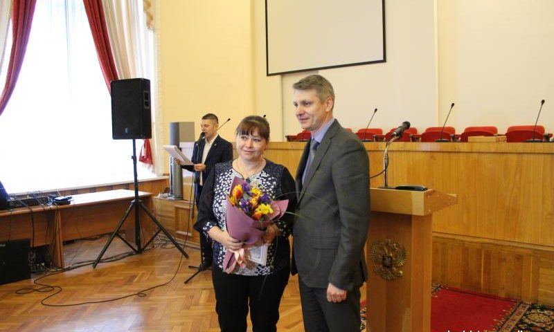Награждены лучшие работники жилищно-коммунального хозяйства  г.Шахты  (МНОГО ФОТО)