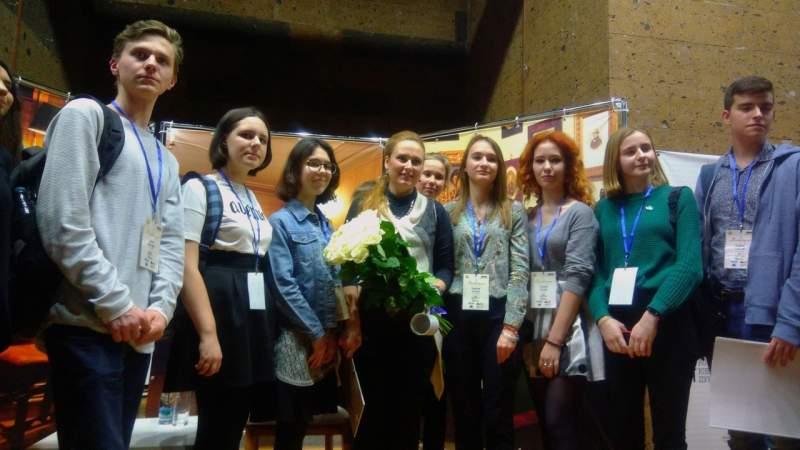 Юнкор пресс-центра ДЖОСТИК приняла участие в областном конкурсе «Первая строка»