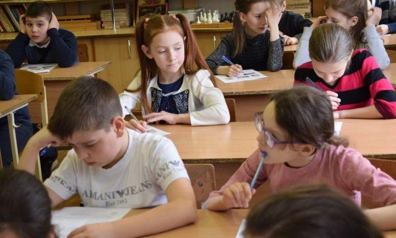 В гимназии № 10 г. Шахты прошел третий (епархиальный) тур Кирилло-Мефодиевской олимпиады