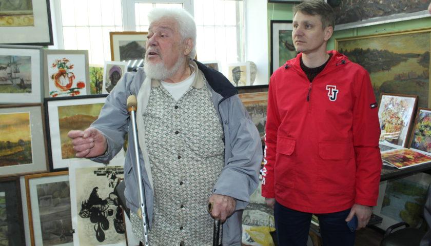 В г. Шахты открылась галерея заслуженного художника России Владимира Дикого