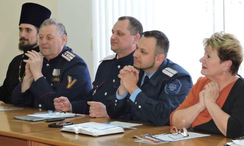 В Шахтах провели заседание Совета по делам казачества при администрации города
