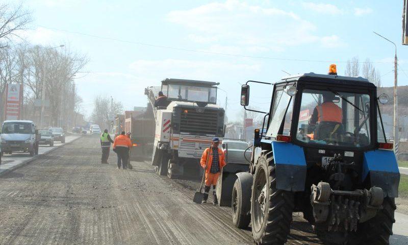 В Шахтах начался  капитальный ремонт дороги по улице Маяковского