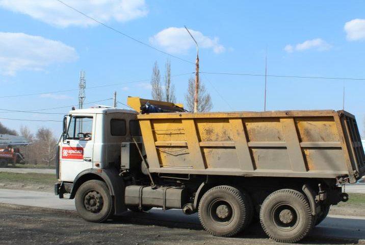 Ограничение движения тяжеловесного транспорта введено в г.Шахты