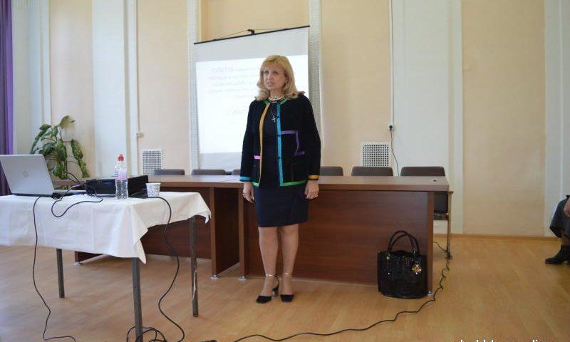 Главный эндокринолог Ростовской области провела лекцию в Шахтах