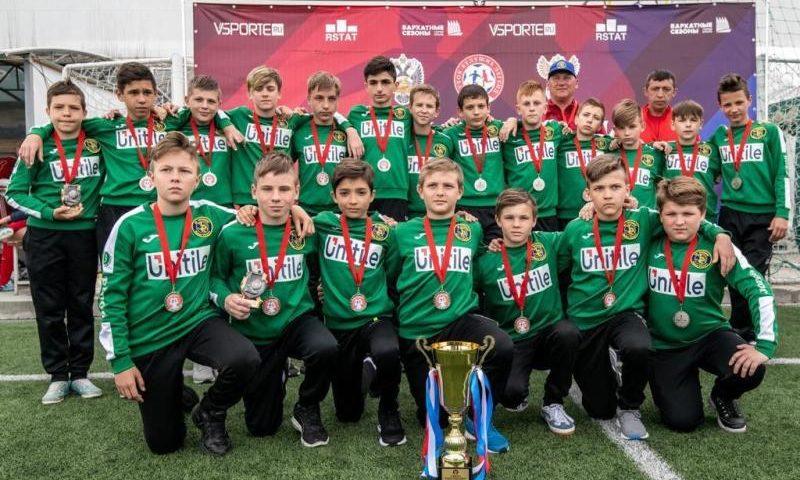 Команда «Артемовец» г.Шахты  стала призером международного турнира