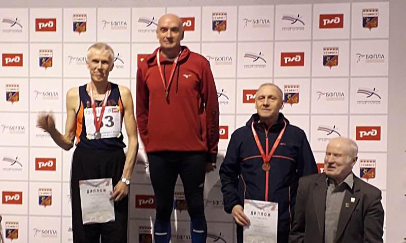 Выпускник школы №3 г.Шахты Константин Осадченко стал чемпионом России по легкой атлетике
