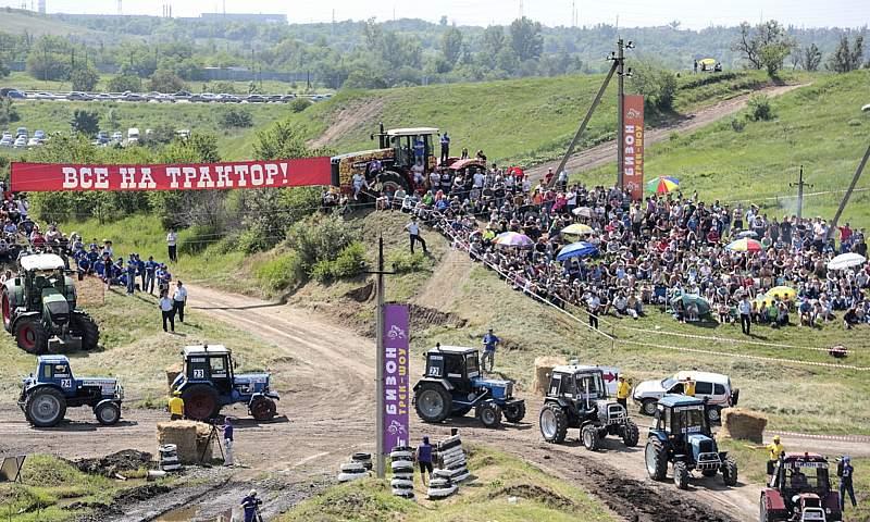 Единственные в России гонки на тракторах вновь пройдут на Дону