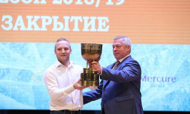 В Ростовской области подведены итоги Южной хоккейной лиги 2018/2019