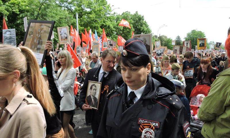 Представители духовенства  Шахтинской епархии прошли в рядах «Бессмертного полка»