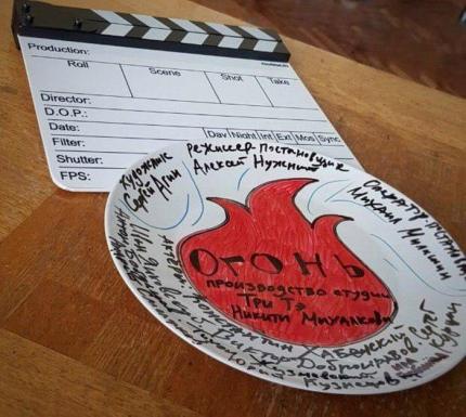 На Дону студия Никиты Михалкова снимает фильм про тушение лесных пожаров