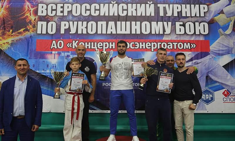 Спортсмены СК «Боец» г.Шахты на Всероссийском турнире по рукопашному бою завоевали 14 медалей