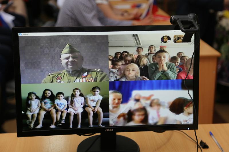 Онлайн-трансляция марафона Победы -2019 прошла в ИСОиП (ф) ДГТУ в г.Шахты