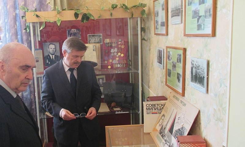 10 лет исполнилось общественному региональному музею истории полиции города Шахты