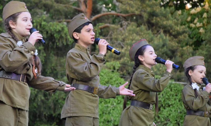 Как город Шахты отпраздновал День Победы