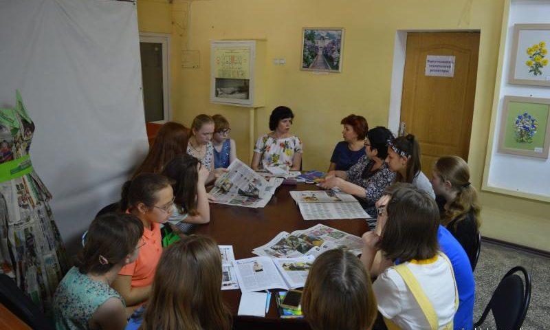 Редсовет  детской газеты «ШАНС» разработал план летней практики юнкоров