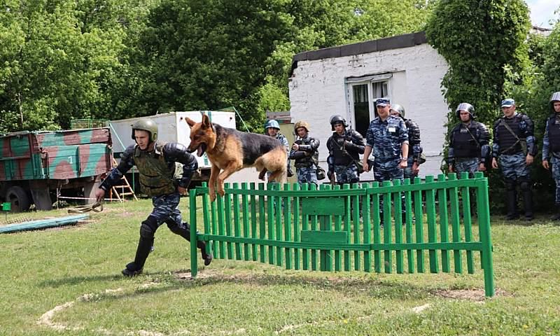 В г. Шахты прошли сборы сводных отрядов учреждений ГУФСИН России по Ростовской области
