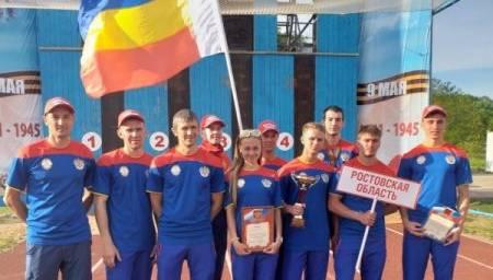 Команда Ростовской области заняла первое место во Всероссийских соревнованиях по пожарно-спасательному спорту