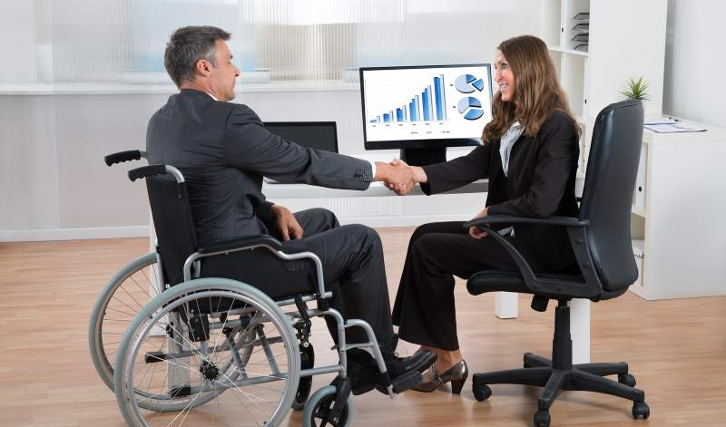 Трудоустройство граждан с инвалидностью