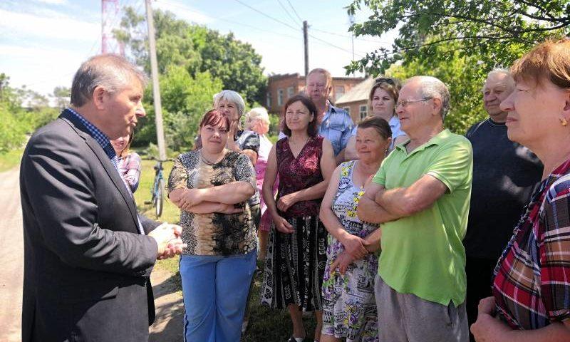 Встреча с жителями переулка Артемовский была организована в г. Шахты