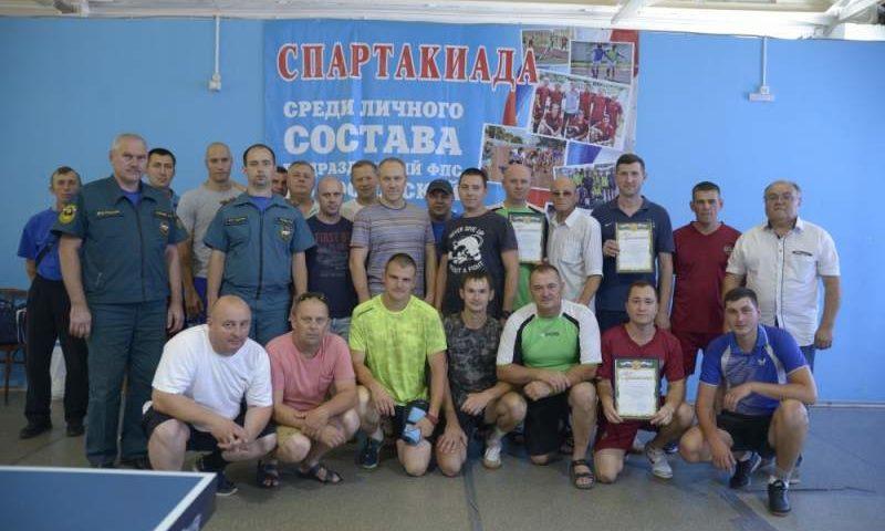 Шахтинские огнеборцы стали победителями  II этапа спартакиады  среди подразделений ФПС по Ростовской области