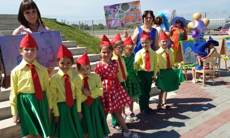 В Ростовской области дети провели акцию  «Зеленый – цвет жизни»