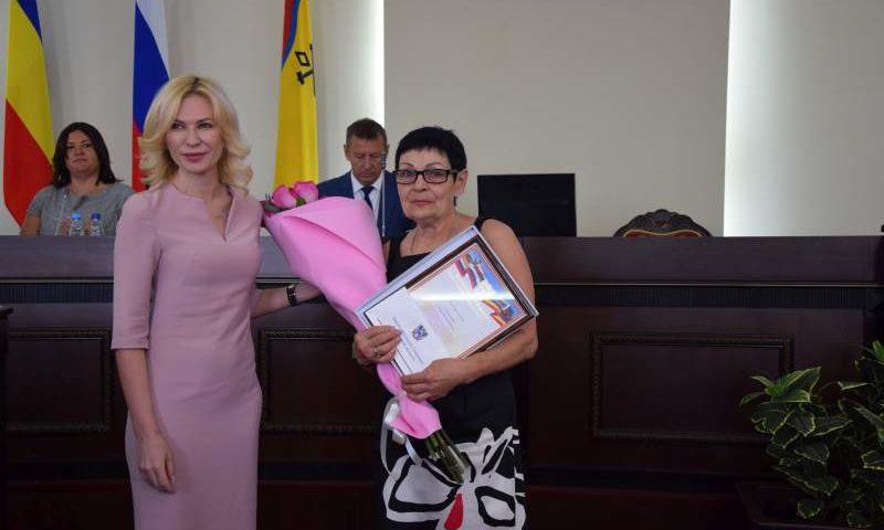 Шахтинцы получили награды Законодательного Собрания Ростовской области