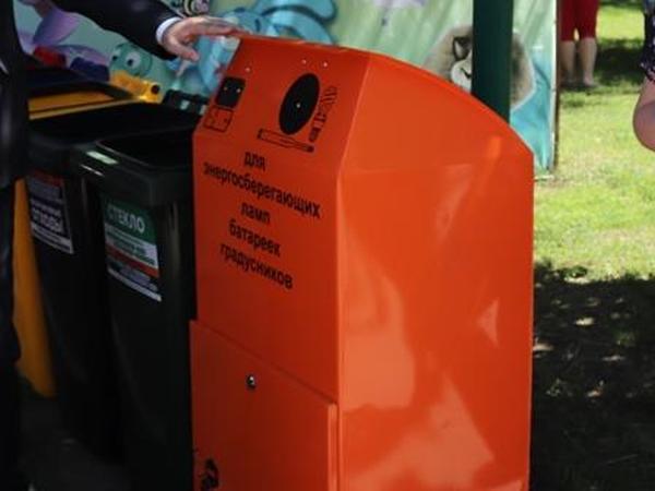 В Шахтах устанавливаются специальные контейнеры для батареек