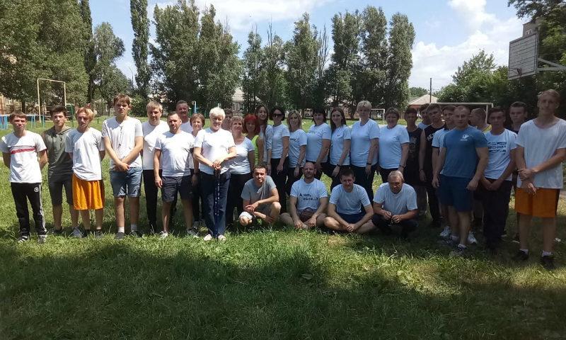 В Шахтинском политехническом колледже прошел второй этап сдачи норм ГТО