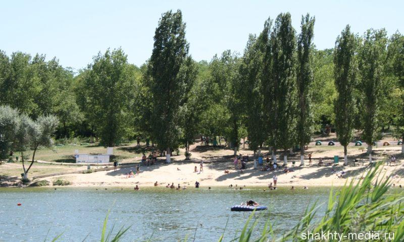 В Шахтах начался купальный сезон