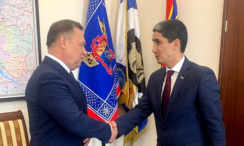 Развивается сотрудничество Ростовской области и Туркменистана