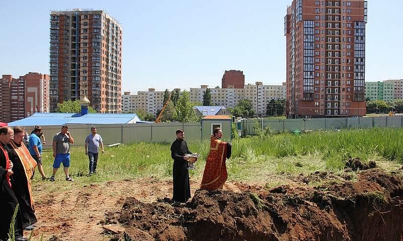 Храм покровителей семьи начали строить в Ростове-на-Дону