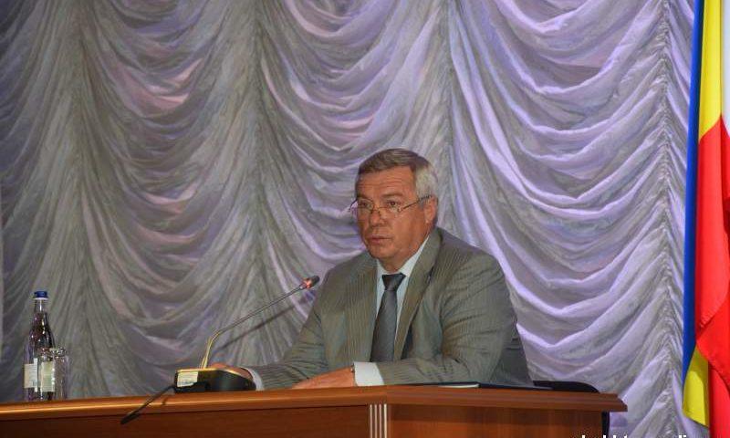 Губернатор Ростовской области провел совещание по реализации в г.Шахты национальных проектов